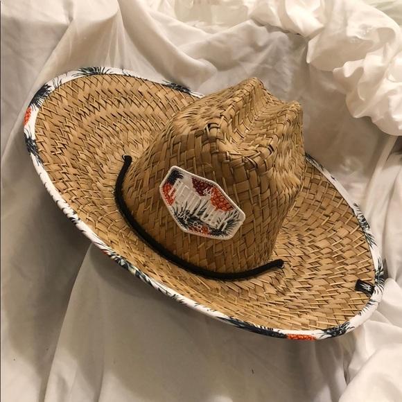hemlock Accessories - Hemlock hat with pineapple accents 5584f91658d